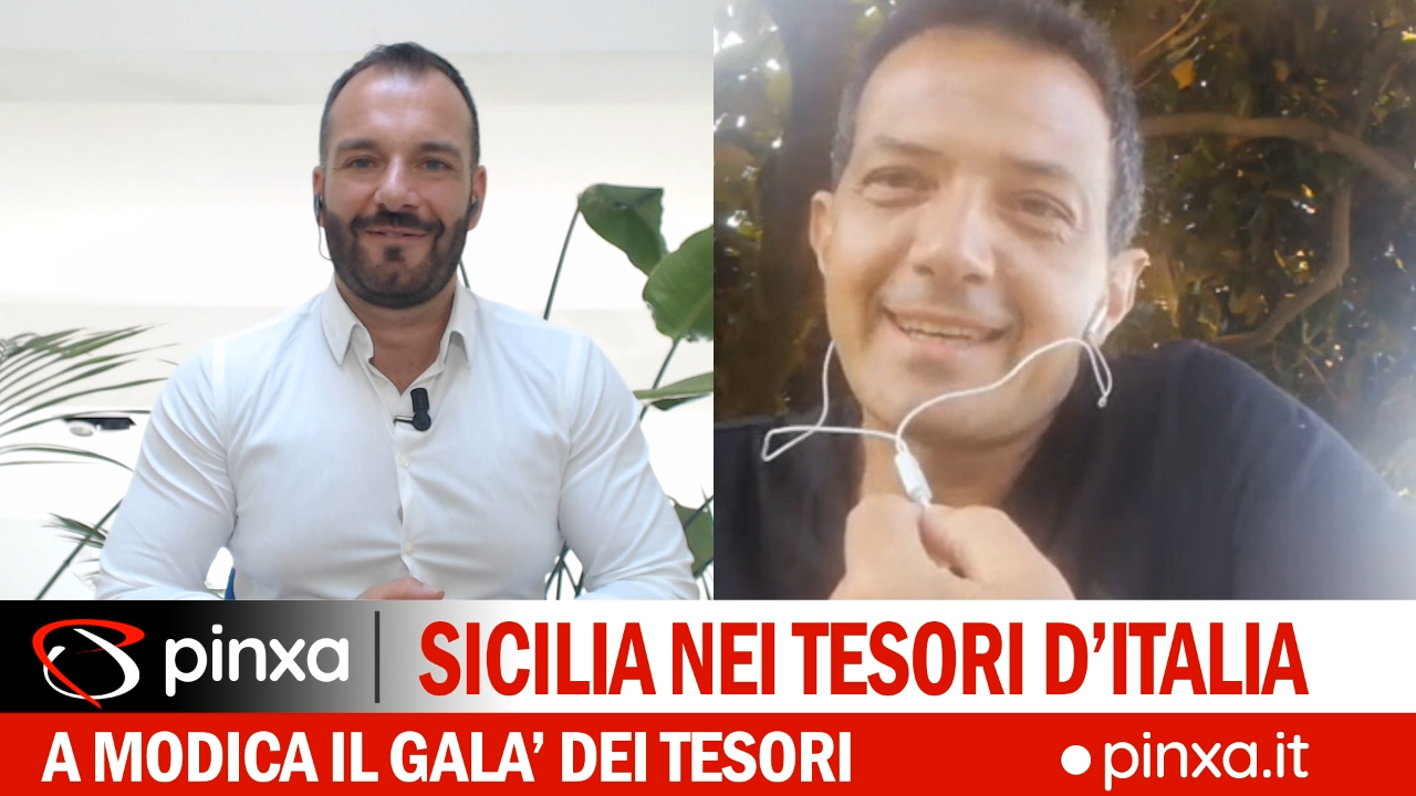 Galà dei Tesori a Modica, talk con Riccardo D'Urso | VIDEO