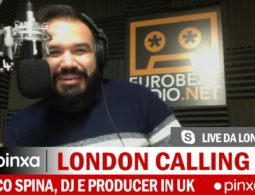 Marco Spina, Dj e producer catanese a Londra con Eurobeat Radio | TALK